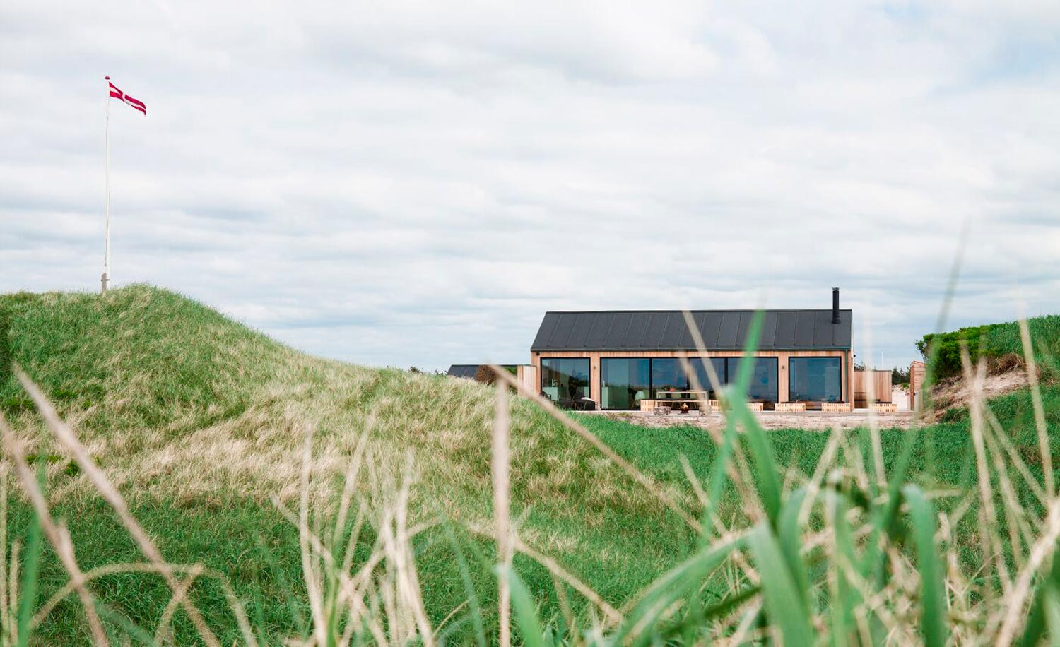 Herthasvej Grønhøj - Exclusive refurbishment to North Sea weekend cottage