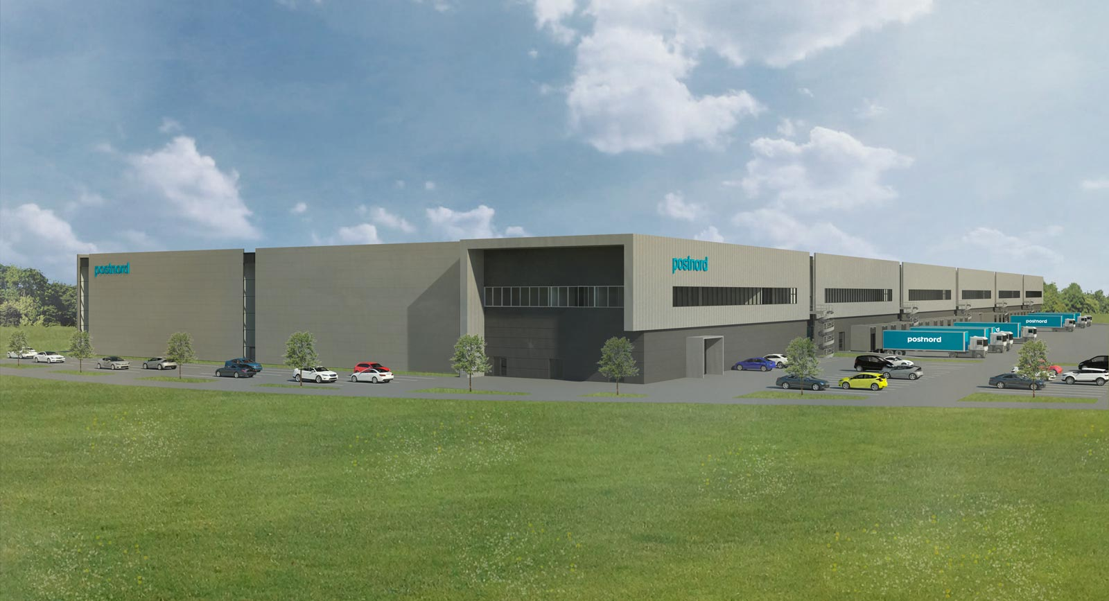 Large logistics building project for PostNord initiated in Køge