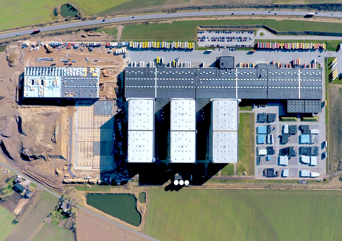Expansion undertaken at Europe's largest distribution center