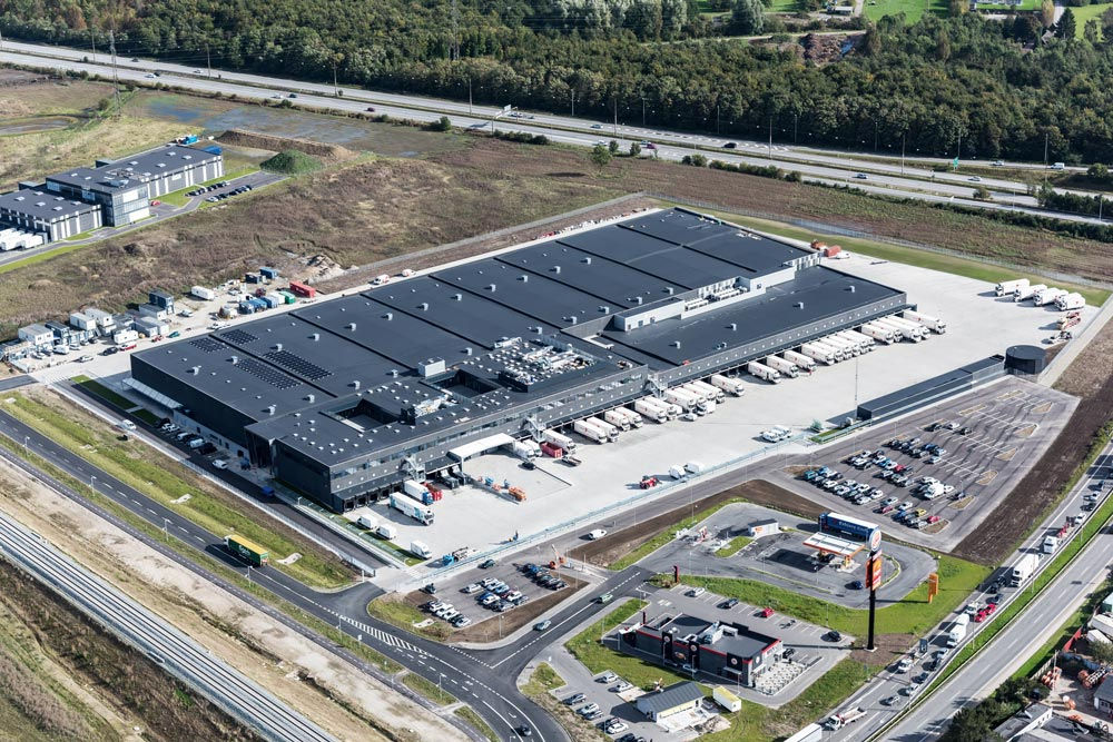 FoodService Danmark has moved into their new warehouse and logistics center