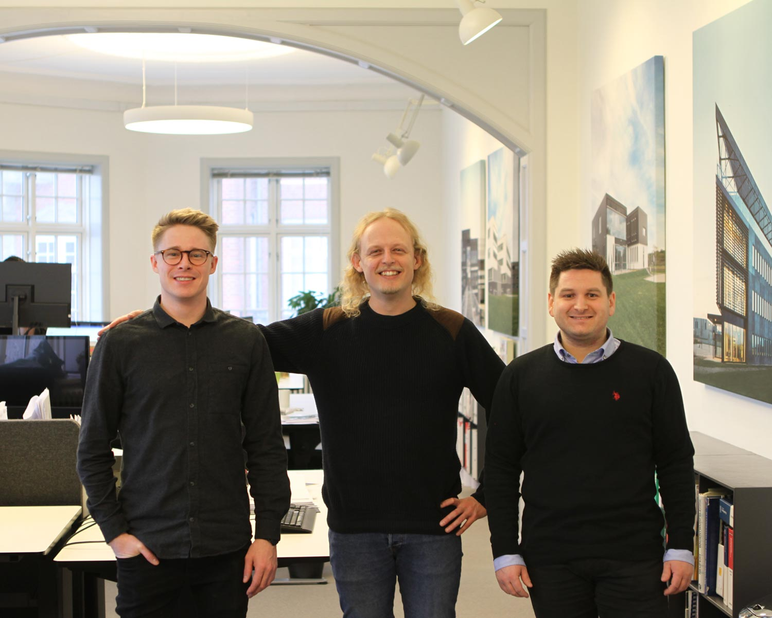 Three new faces at the Aalborg department
